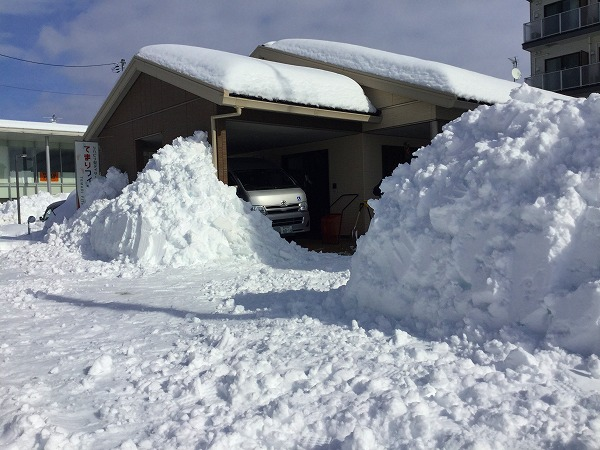 大雪のてまりフィットネス