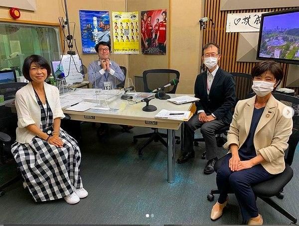 MROラジオに生出演です。